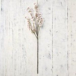 Pottery Barn Faux Cherry Blossom Flower Branch New